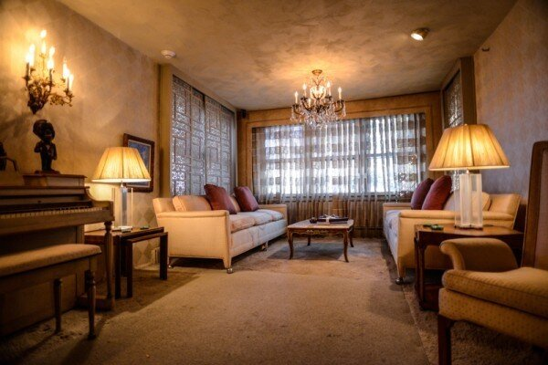 Louis Armstrong House Living Room