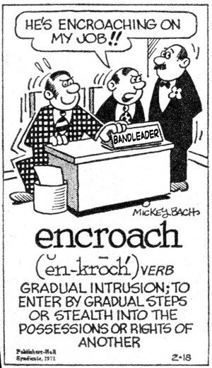 encroach - The Professor's Guide to Hustling Gigs