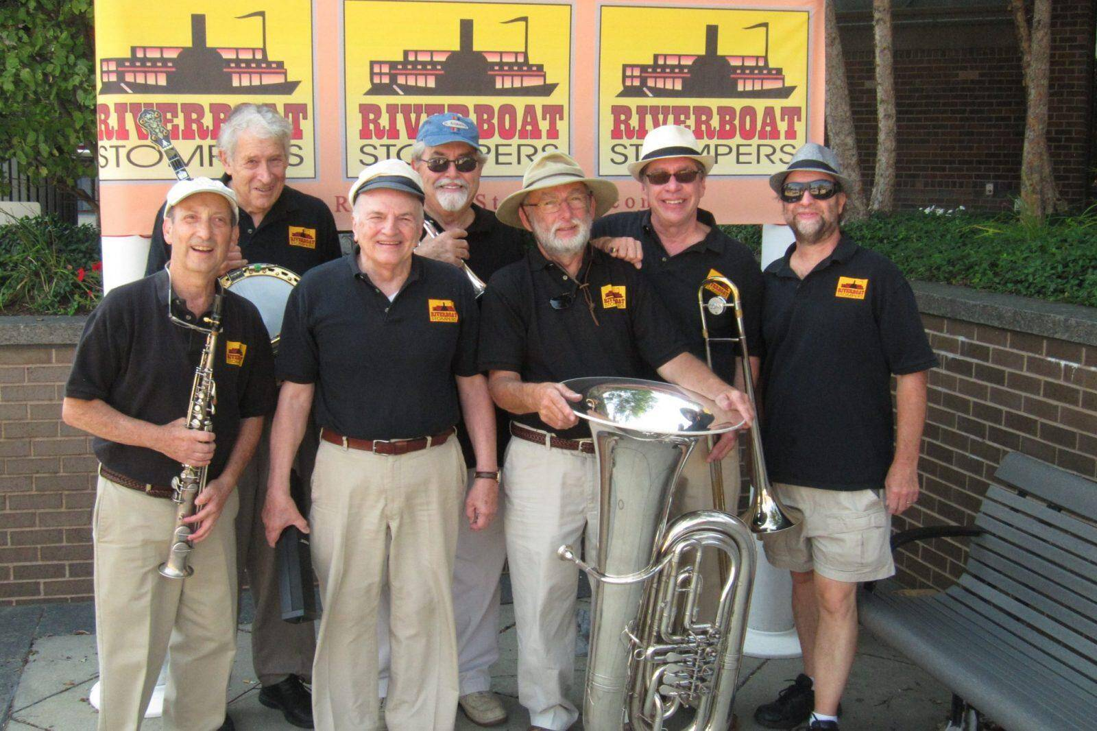 Boston's Riverboat Stompers Ship Out with JazzSea
