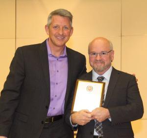 STJS Foundation Honors Local School District Administrator