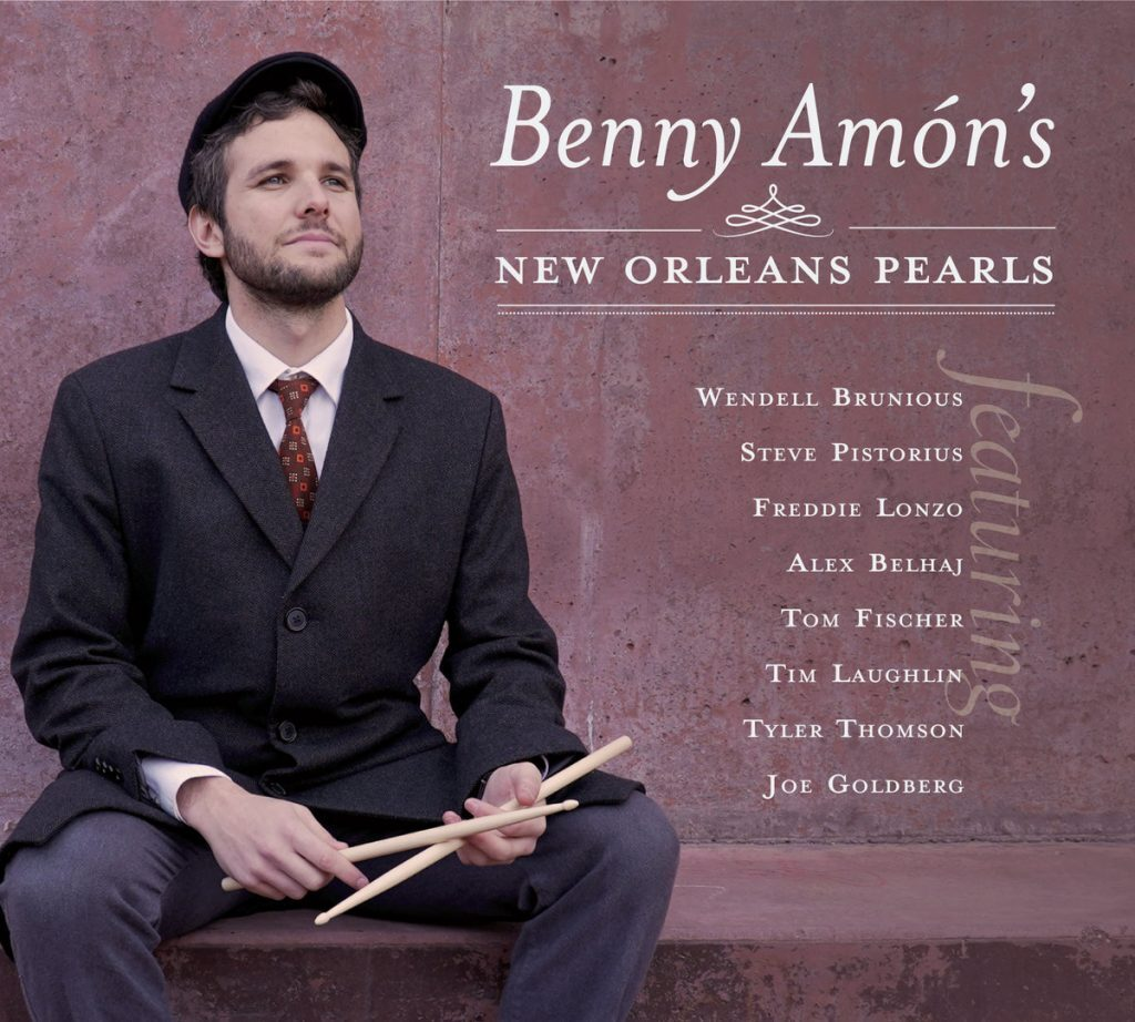 Benny Ammon New Orleans Pearls Album Cover