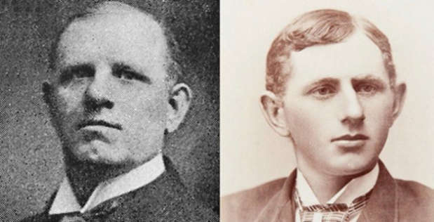 Two images of Fred Hylands