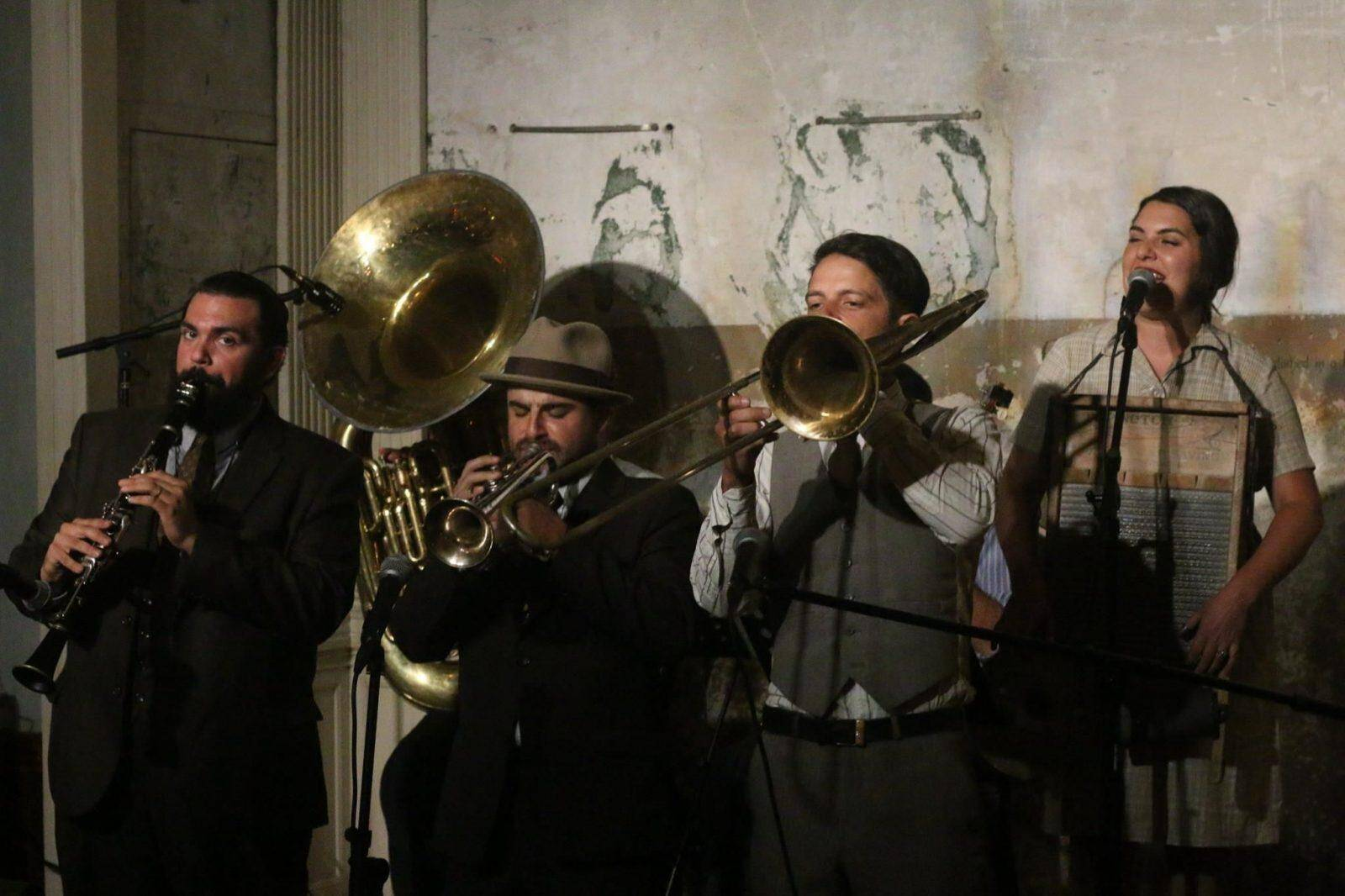 Holy Crow Jazz Band the Hit of Monterey
