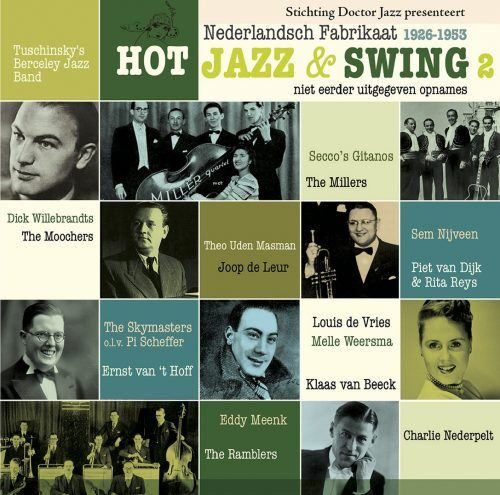 Netherlands Hot Jazz and Swing album cover