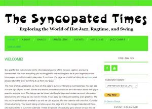Happy Birthday Syncopatedtimes.com!