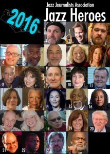 2016 Jazz Journalists Association Jazz Hero