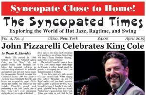 April 2019 Syncopated Times Cover