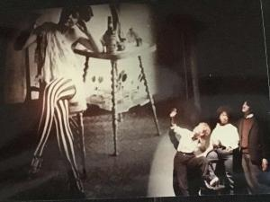 Photo From 1980s Staging of Coming Through Slaughter Provided by the show's director Tim McDonough.
