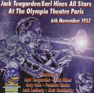 Teagarden, Jack / Earl Hines All-stars At The Olympia Theatre, Paris, France - Nov. 6, 1957