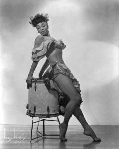 Publicity photo for Norma Miller, The Queen of Swing (photo by Boris Bokchy)