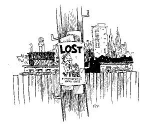 Lost Vibe Illustration by Frank Page