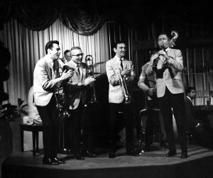 Jerry fuller with the Dukes courtesy Deano Assunto e1561695619907 300x251 - Jerry Fuller, an original Duke of Dixieland, has Passed at 89