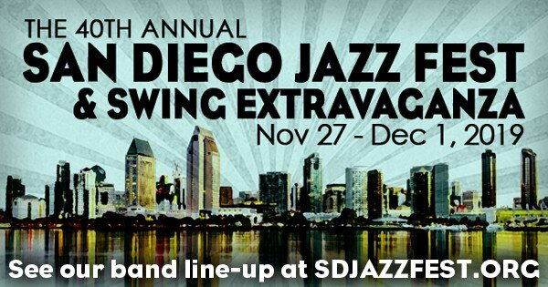 Syncopated Times web - The 2019 San Diego Jazz Party