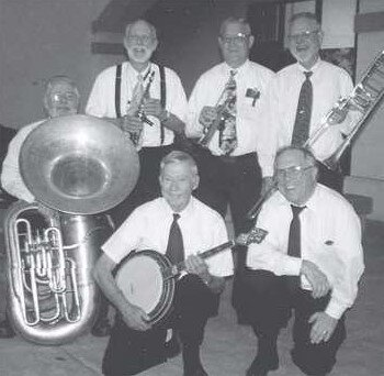 Ted Shafer and the Jelly Roll Jazz Band Keep Rolling Along