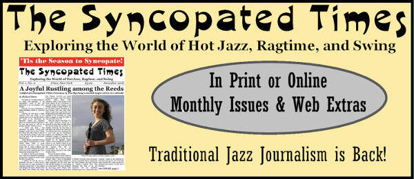 Email Catch - Jazz Jottings April 2016