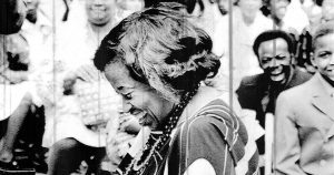 Lil Hardin Armstrong on August 27, 1971, at Chicago's Civic Center
